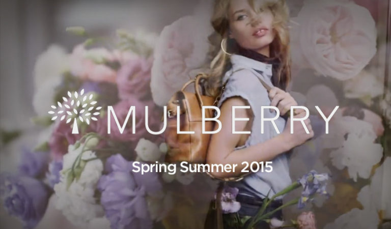 Mulberry launches Spring/Summer 2015