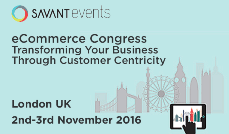 Savant e-Commerce London November 2-3