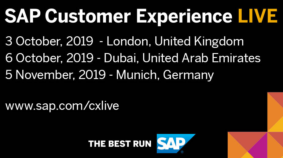 SAP Customer Experience Live