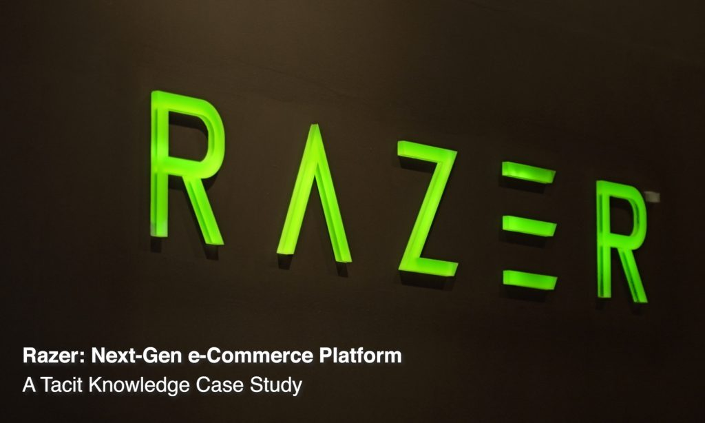 Razer & Tacit Knowledge Successfully Deliver the Next-Gen eCommerce Platform